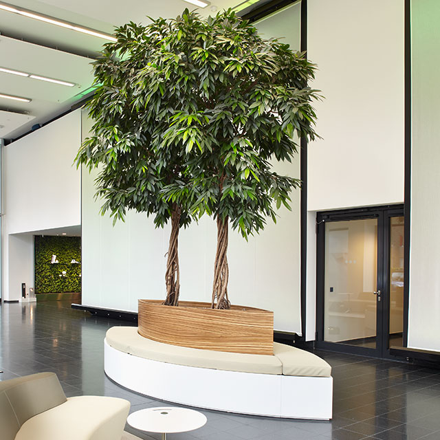 Interiorfotografie Fabian Aurel Hild für Green-Office-Deutschland bei Philips in Hamburg